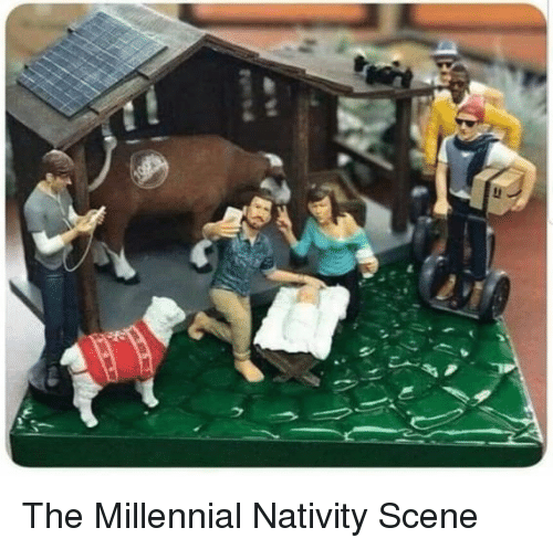 nativity scene: The Millennial Nativity Scene