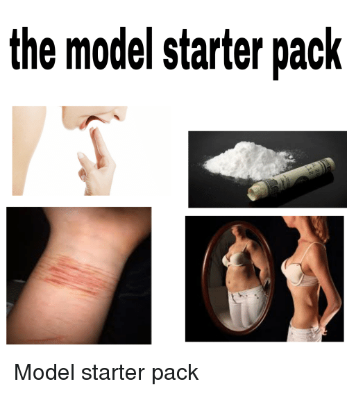 Starter Packs, Models, and Starter Pack: the model starter pack Model starter pack