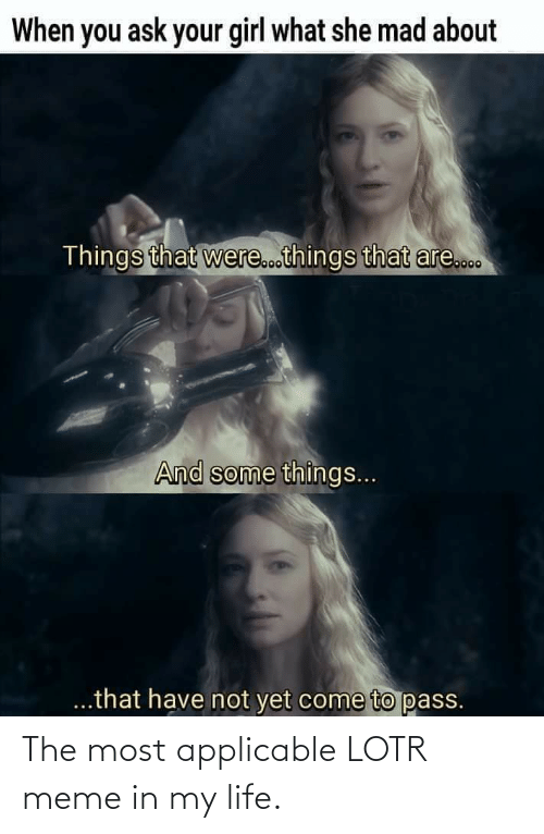 lotr meme: The most applicable LOTR meme in my life.