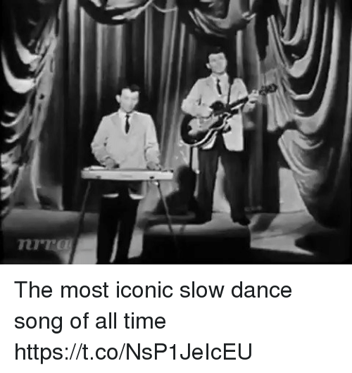 Dancee: The most iconic slow dance song of all time https://t.co/NsP1JeIcEU