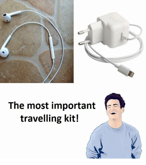 Kit, Importanter, and The: The most important  E  travelling kit!