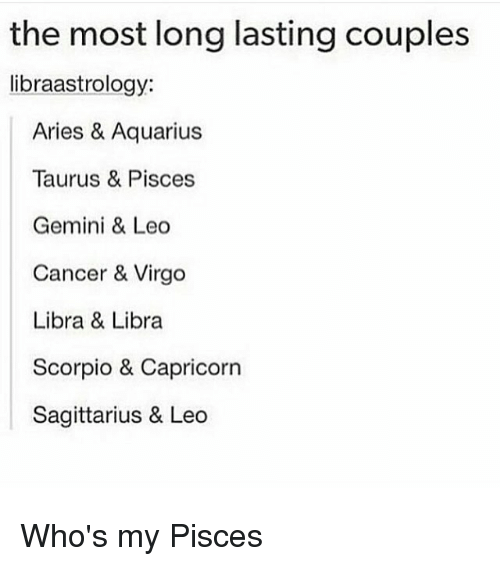 The best and most compatible zodiac signs for couples ...