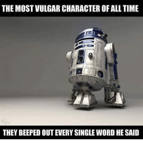 vulgar: THE MOST VULGAR CHARACTER OF ALL TIME  THEY BEEPED OUT EVERY SINGLE WORD HE SAID