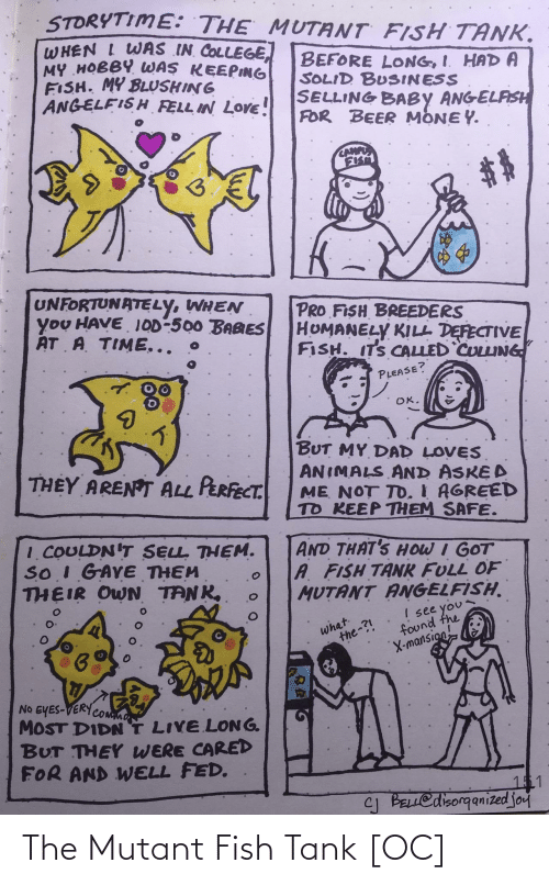 Fish: The Mutant Fish Tank [OC]