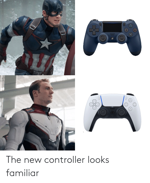 The New: The new controller looks familiar