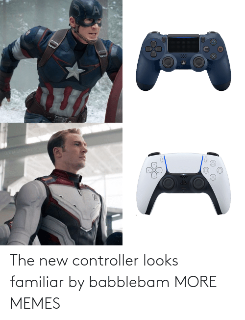 The New: The new controller looks familiar by babblebam MORE MEMES