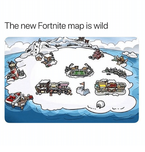 Memes, Wild, and 🤖: The new Fortnite map is wild  r-