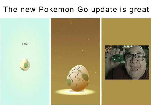 The New Pokemon Go Update Is Great Oh?
