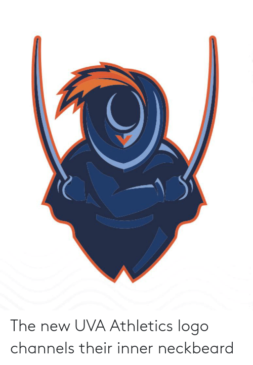 Athletics: The new UVA Athletics logo channels their inner neckbeard