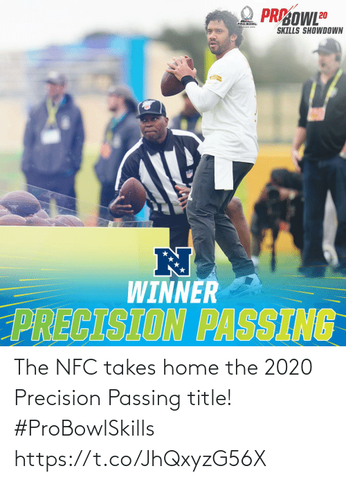 nfc: The NFC takes home the 2020 Precision Passing title! #ProBowlSkills https://t.co/JhQxyzG56X