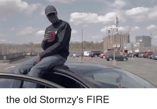 Fire, Funny, and Old: the old Stormzy's FIRE