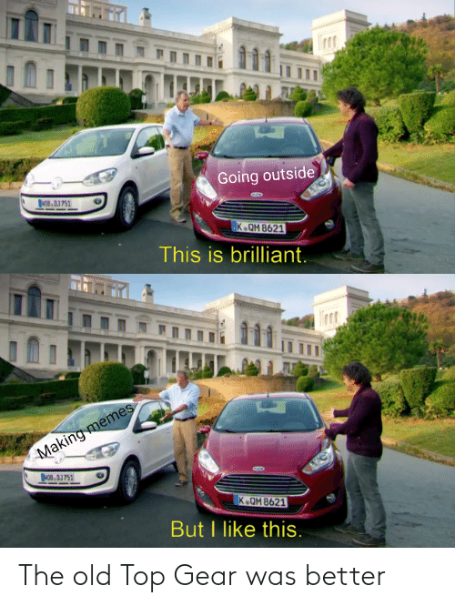 Top Gear: The old Top Gear was better