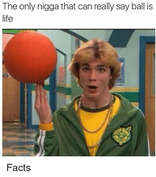 ball is life: The only nigga that can really say ball is  life Facts