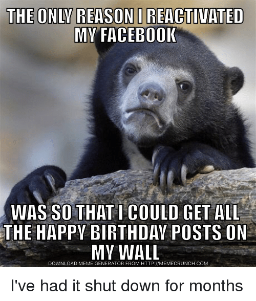 Funny Happy Birthday Memes Of 2017 On SIZZLE