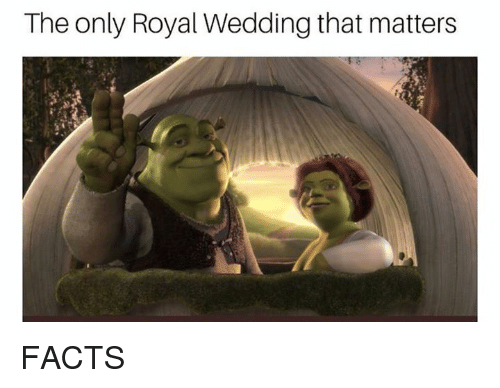 Facts, Wedding, and Dank Memes: The only Royal Wedding that matters FACTS