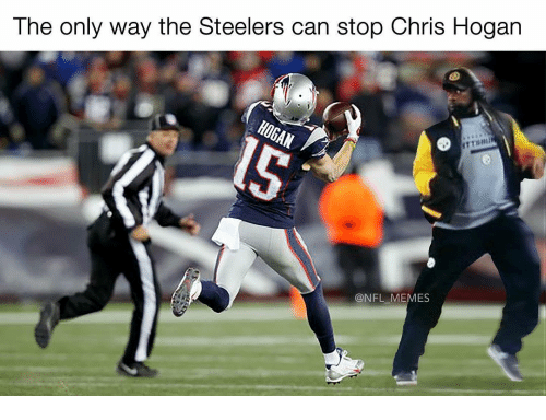 Memes, Steelers, and 🤖: The only  way the Steelers can Stop Chris Hogan  @NFL MEMES