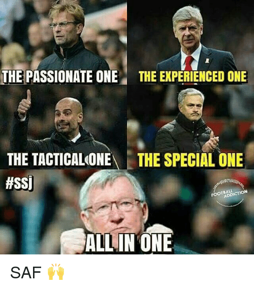 Experiencers: THE PASSIONATE ONE THE EXPERIENCED ONE  THE TACTICALONE  THE SPECIAL ONE  #SSI  ON  ALL IN ONE SAF 🙌