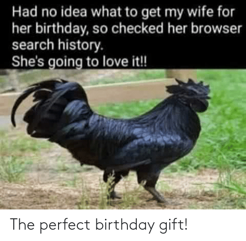 Birthday: The perfect birthday gift!