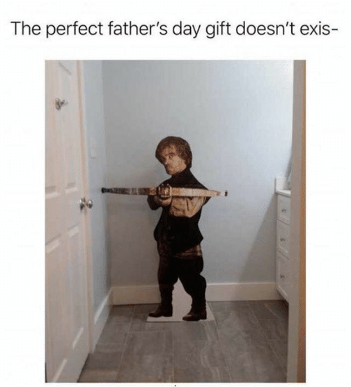 fathers day: The perfect father's day gift doesn't exis