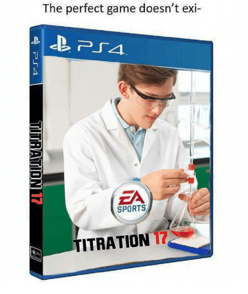 Memes, Sports, and Game: The perfect game doesn't exi  EA  SPORTS  TITRATION 17