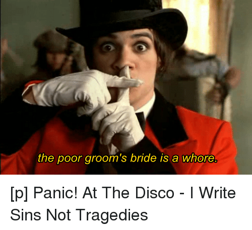 i write sins not tragedies lyrics Lyrics to 'i write sins not tragedies' by panic at the disco oh, well imagine / as i'm pacing the pews in a church corridor / and i can't help but to hear .