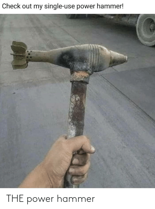 the power: THE power hammer
