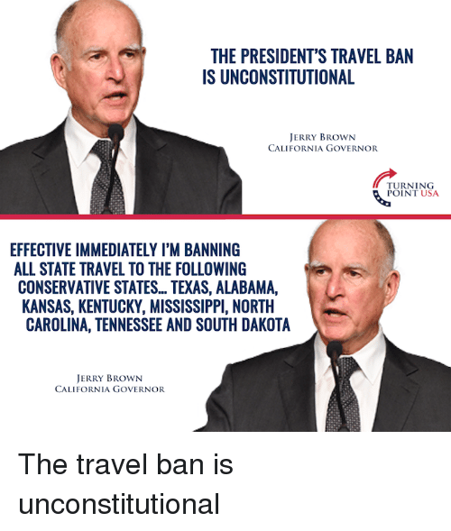 Was The Travel Ban Unconstitutional