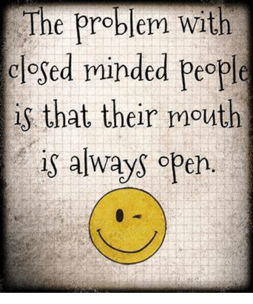 Close Minded