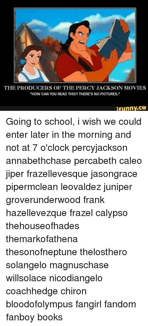 the producers of the percy jackson movies how can you read this there 39 s no pictures ifunnyce. Black Bedroom Furniture Sets. Home Design Ideas