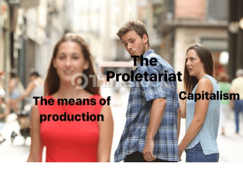 proletariat: The  Proletariat  Capitalism  The means of  production