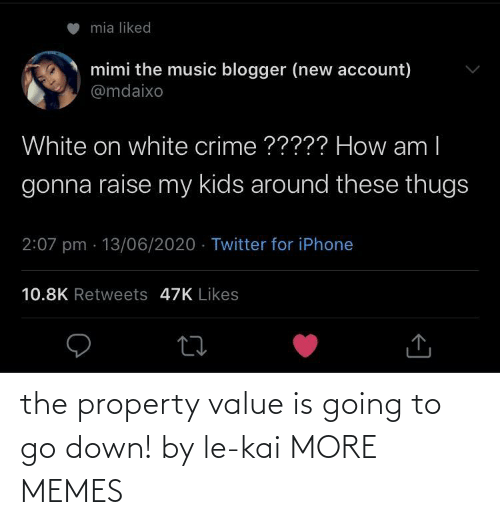 Going To: the property value is going to go down! by le-kai MORE MEMES
