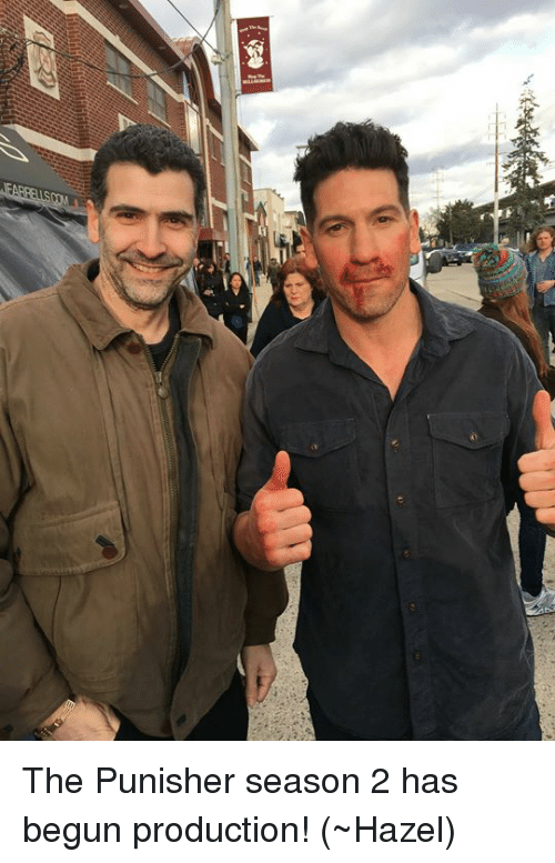 Memes, Punisher, and 🤖: The Punisher season 2 has begun production!  (~Hazel)