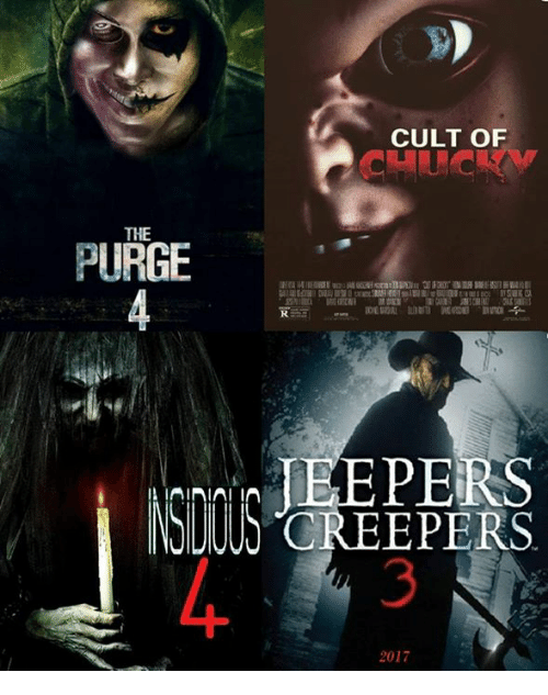 purging: THE  PURGE  A IAINIAI CULT OF  JEEPERS  2017