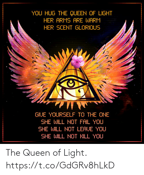 the queen: The Queen of Light. https://t.co/GdGRv8hLkD