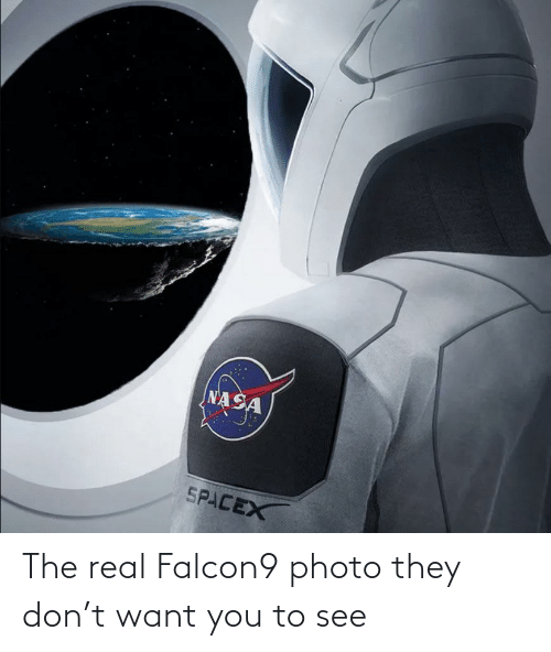 photo: The real Falcon9 photo they don't want you to see