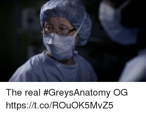 Memes, The Real, and 🤖: The real #GreysAnatomy OG https://t.co/ROuOK5MvZ5