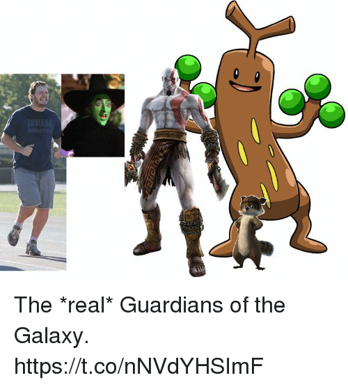 Guardians of the Galaxy: The *real* Guardians of the Galaxy. https://t.co/nNVdYHSImF