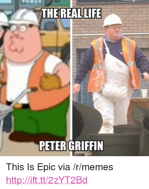 """Peter Griffin: THE REAL LIFE  PETER GRIFFIN <p>This Is Epic via /r/memes <a href=""""http://ift.tt/2zYT2Bd"""">http://ift.tt/2zYT2Bd</a></p>"""