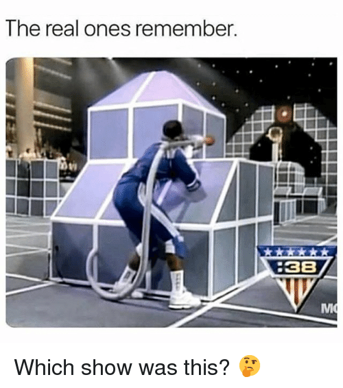 The Real, Dank Memes, and Remember: The real ones remember  38  Mi Which show was this? 🤔