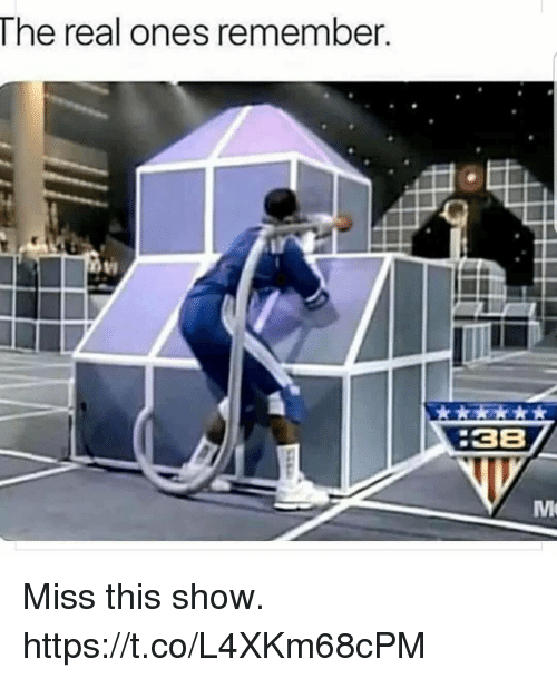 Funny, The Real, and Remember: The real ones remember  :38 Miss this show. https://t.co/L4XKm68cPM