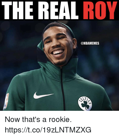 The REAL ROY Now That's A Rookie Httpstco19zLNTMZXG