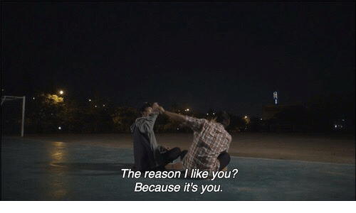 its you: The reason I like you?  Because it's you