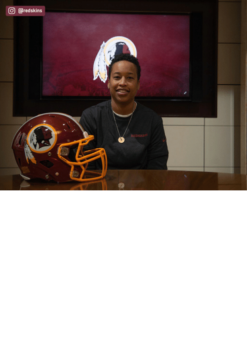 african: The Redskins have named Jennifer King as a full-year coaching intern. King is the first full season African American female coach in the NFL. (via @redskins) https://t.co/OuD411hqSr