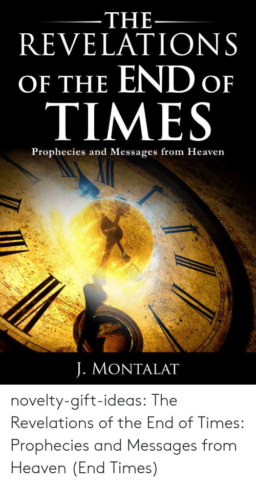 revelations: THE  REVELATIONS  OF THE END o  TIMES  Prophecies and Messages from Heaven  J. MONTALAT novelty-gift-ideas:  The Revelations of the End of Times: Prophecies and Messages from Heaven (End Times)
