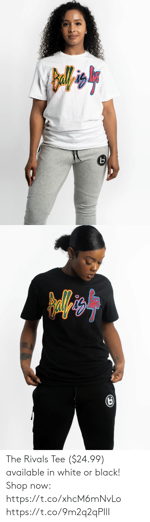 tee: The Rivals Tee ($24.99) available in white or black!  Shop now: https://t.co/xhcM6mNvLo https://t.co/9m2q2qPIlI
