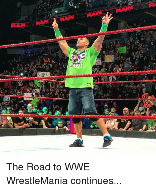 Wrestlemania: The Road to WWE WrestleMania continues...