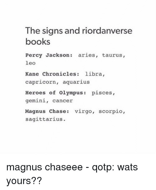 the signs and riordanverse books percy jackson aries taurus leo 7060544 the signs and riordanverse books percy jackson aries taurus leo