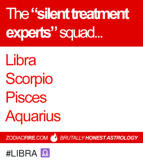 Aquarius silent treatment