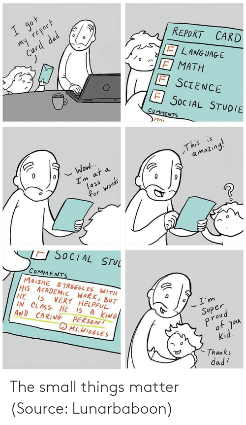 Lunarbaboon: The small things matter (Source: Lunarbaboon)
