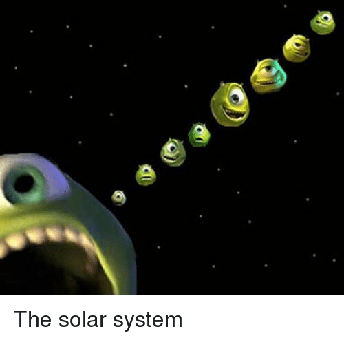 silly meme solar system - photo #42